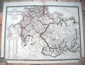 1824-CARTA-GEOGRAFICA-DELL-039-IMPERO-RUSSO-DI-F-FRIED-EDITO-DA-ARTARIA-RUSSIA