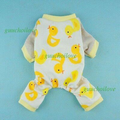 Fitwarm Cotton Pajamas Collection Dog Clothes Soft Pet Jumpsuit Cute Shirt Coat