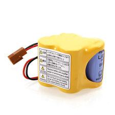 6V 2400mAh BR-2/3AGCT4A Li-ion PLC Battery with Plug for Panasonic Durable Use