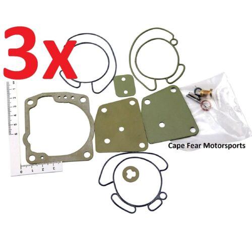 *3* Johnson Evinrude 90-175 Carb Rebuild Kit 435442 436852 438996 Sierra 18-7247