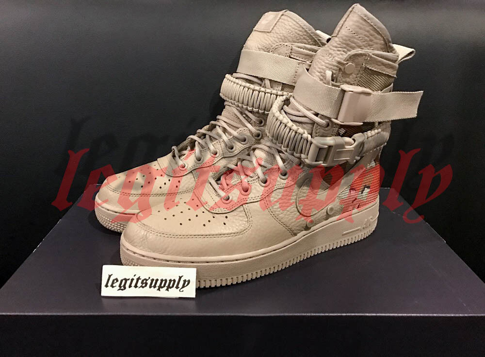 Nike Air Force 1 Special Field SF AF1 QS Desert Camo 8-13 Tan 864024-202 Tier0