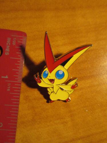 NM Mythical VICTINI Metal PIN//BADGE Pokemon XY 20th Anniversary PROMO Box XY117