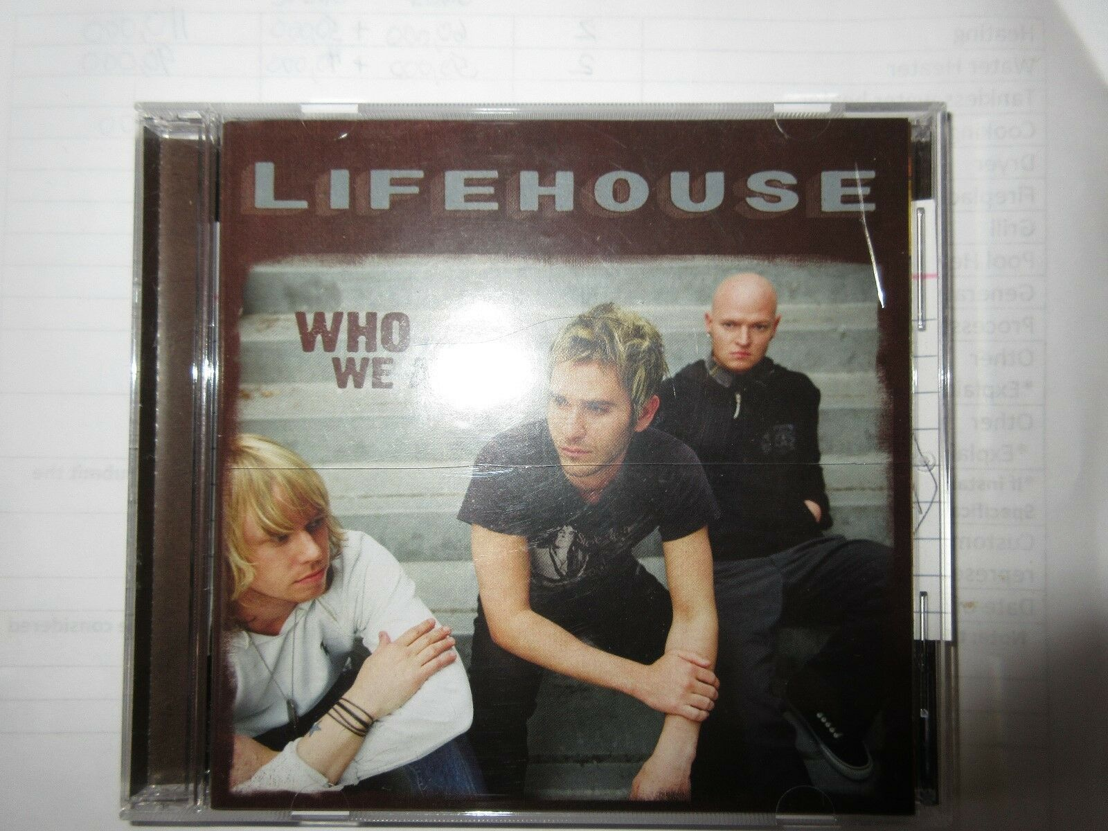 Lifehouse , Who We Are , CD