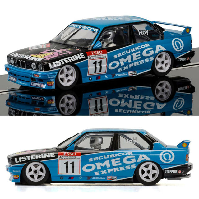 2x bmw E30 M3 brands hatch Scalextric slot cars C3739 C3782 btcc