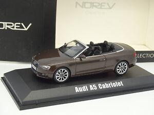 Norev-1-43-Audi-A5-Cabriolet-Marron