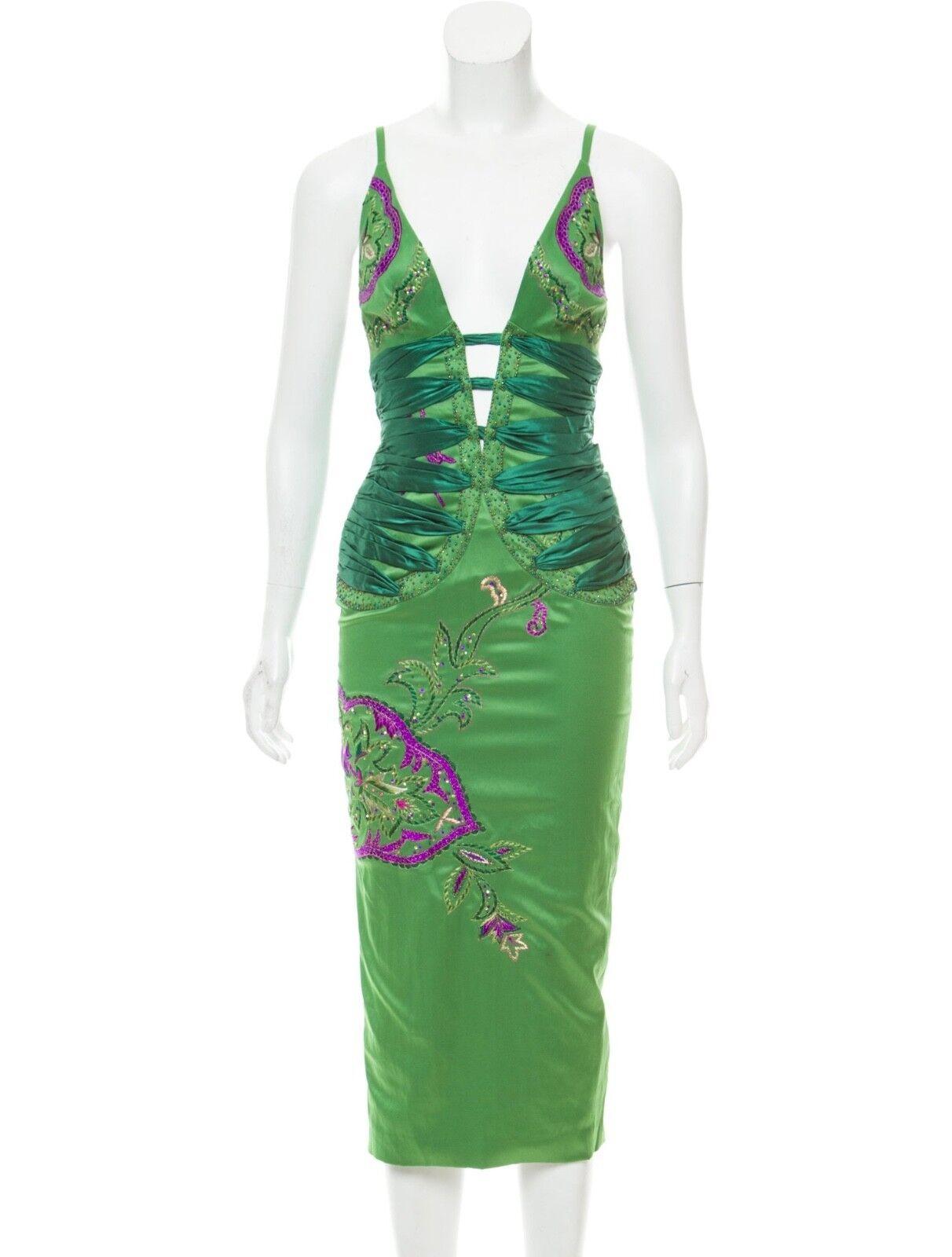 Satinado  vestido adornado MANDALAY Swarovski 2 XS Totokaelo  Ahorre 35% - 70% de descuento