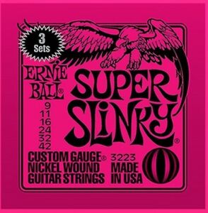 Ernie-Ball-Super-Slinky-09-042-3er-Pack-Nickel-Wound-Electric