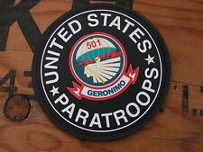 "SNAKE PATCH "" 501 PIR US PARATROOPS "" PVC - WW2 PARA Normandie AIRBORNE 82 101"
