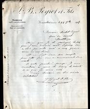 "GENOUILLAT (23) MATERIAUX de CONSTRUCTION QUINCAILLERIE ""J.B PEYROT & Fils"" 1907"