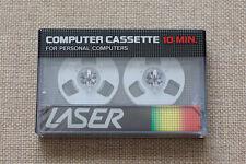 LASER 10min. REEL-TO-REEL Computer SEALED BLANK CASSETTE TAPE. NEW RARE
