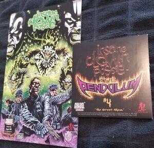 Insane-Clown-Posse-The-Pendulum-4-of-12-Comic-Book-CD-Single-Set-twiztid-icp