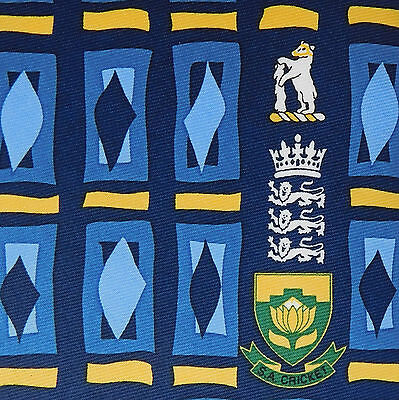 England v South Africa cricket tie Edgbaston 2003 NEW Warwickshire international