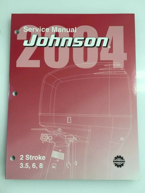 2004 Johnson Sr 2 Stroke 3 5 6 8 Hp Outboard Service