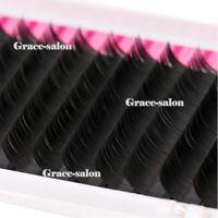 Makeup Individual Natural False Curl Eyelashes Cluster Eye Lash Extension C Curl