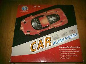 Universal Car Alarm System