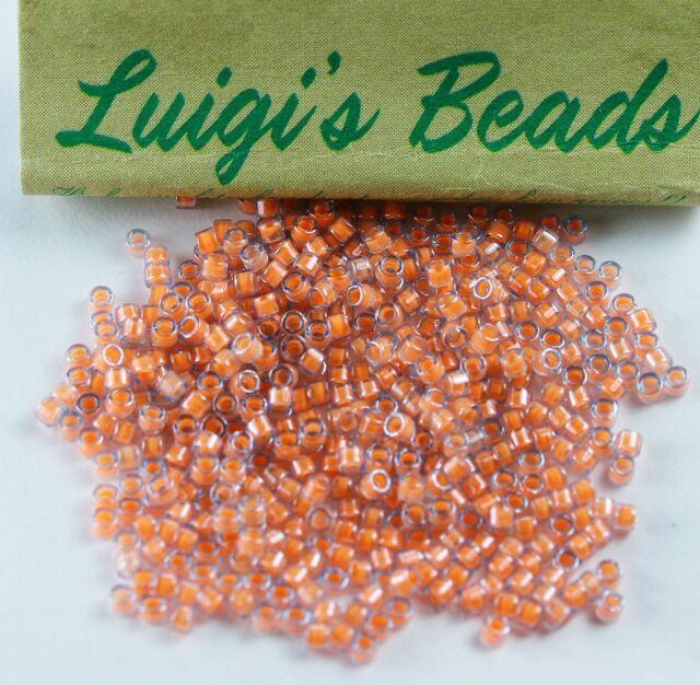 8144deee640 11/0 Miyuki Delica Glass Seed Beads Db2042-luminous Creamy Praline 5g
