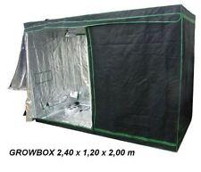 Greenbud Mylar Growschrank,growbox, 240x120x200,ohne giftige Weichmacher,growset
