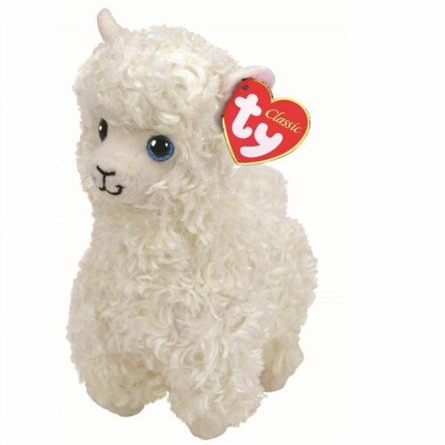 OFFICIAL TY BEANIE BABIES BOOS LILY LLAMA PLUSH SOFT TOY NEW WITH TAG