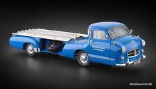 """Mercedes-Benz Renntransporter """"Das blaue Wunder"""" 1954/55 1:18 CMC M-143 UVP 388€"""