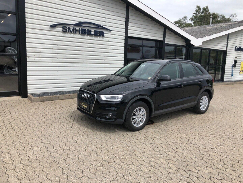Audi Q3 2,0 TFSi 170 quattro S-tr. 5d - 209.000 kr.