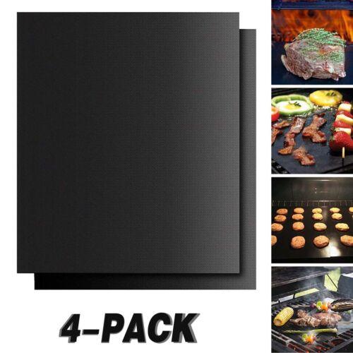 Set of 2//4//6//8//10 Best BBQ Grill Mat Heavy Duty 600 Degree Non-Stick Mats