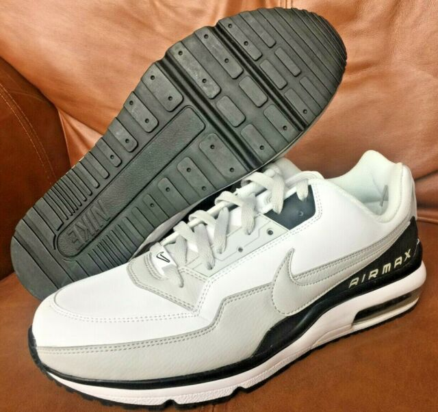 finest selection a1f23 a6a85 Nike Air Max LTD 3 Men s Shoes Sneakers White Grey Black Gray 687977-103  Size