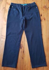 ESACADA-SPORT-Black-Stretch-Jeans-Pants-Size-44