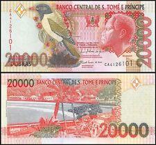 Saint Thomas & Prince 20,000 (20000) Dobras, 2010, P-67d, UNC