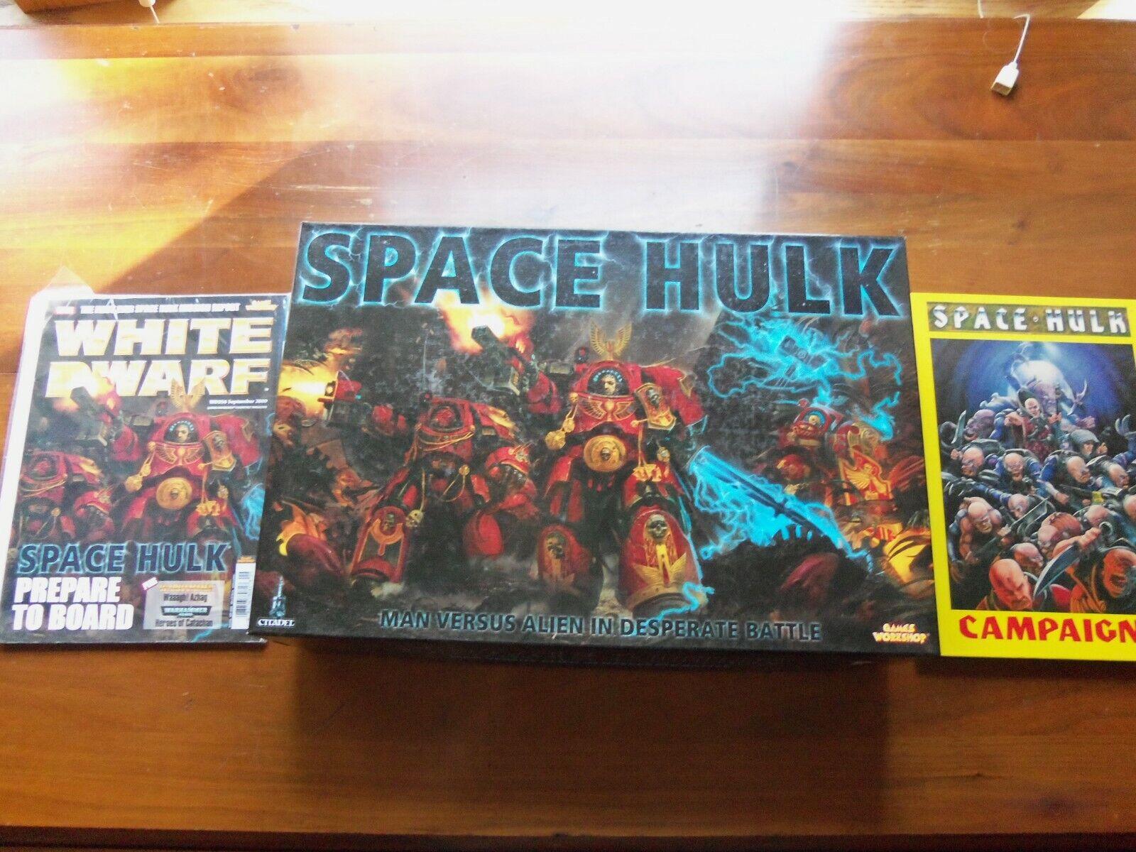 GW WARHAMMER 40K Space Hulk 3rd edición Pro pintado con Coleccionables