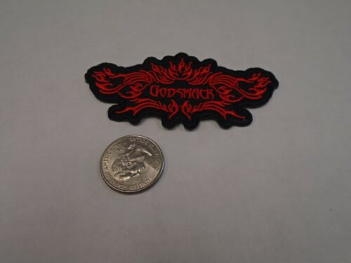 Godsmack Red /& Black Logo 90s Sully Erna IRON//SEW ON EMBROIDERED PATCH NEW