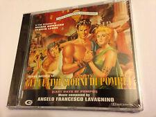 GLI ULTIMI GIORNI DI POMPEI (Lavagnino) OOP CAM Soundtrack Score OST CD SEALED