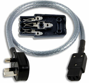 Audio-Friendly-POLISHED-Mains-Power-cable-5-metres-Audiophile-High-End-Hifi