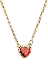 093a853597e2d New Kate Spade New York Romantic Rocks Red Mini Pendant Necklace ...