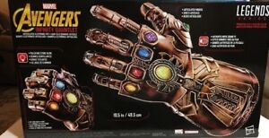 Details about Marvel Legends Thanos Scarce INFINITY GAUNTLET Electronic  Glove Hasbro NEW
