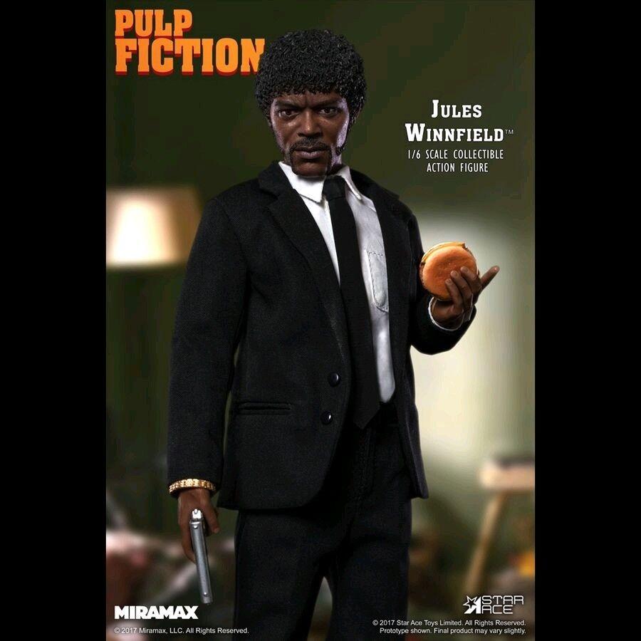 Figuras 1 6 escala -- Pulp Fiction-Jules Winnfield 12  escala 1 6 Figura De Acción