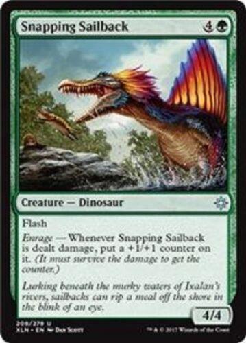 Snapping Sailback  Ixalan uncommon 4x MTG Magic The Gathering 4x