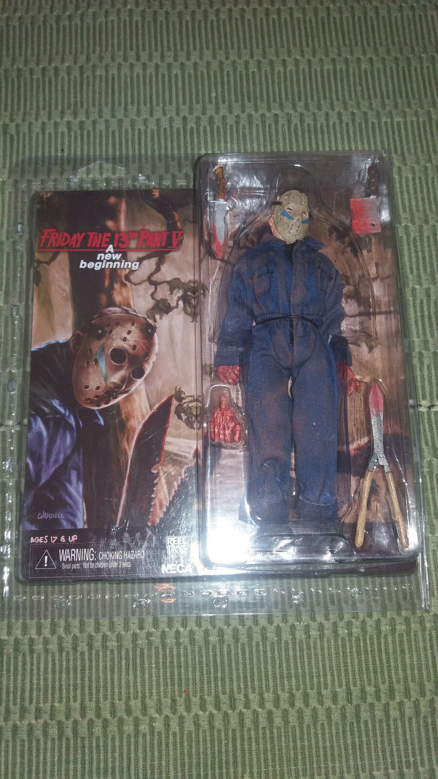 Friday The 13th Figura de juguete nuevo comienzo V Neca Mego Paño Retro Jason Voorhees