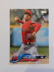 2018 Topps Update Series Shohei Ohtani RC Card #US1 Los Angeles Angels 🔥 Sharp!