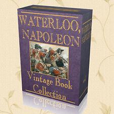 120 Vintage Books Battle of Waterloo Campaign Napoleon Bonaparte Wellington 233