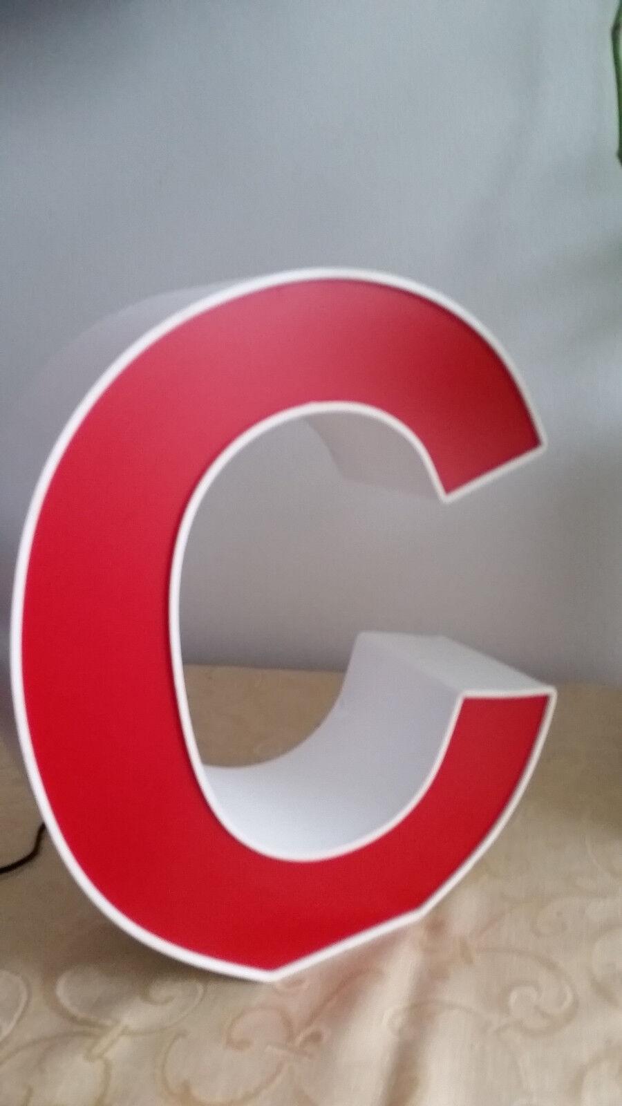 3D Buchstaben, Nachtlicht, Schlummerlich LED Buchstabe, Stehend, Deko, Geschenk