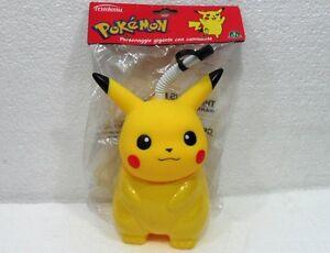 POKEMON-034-Borraccia-Pikachu-personaggio-gigante-c-cannuccia-034-cm20-Giochi-Preziosi