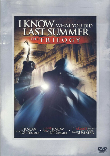 I KNOW WHAT YOU DID LAST SUMMER -THE TRILOGY (DVD)