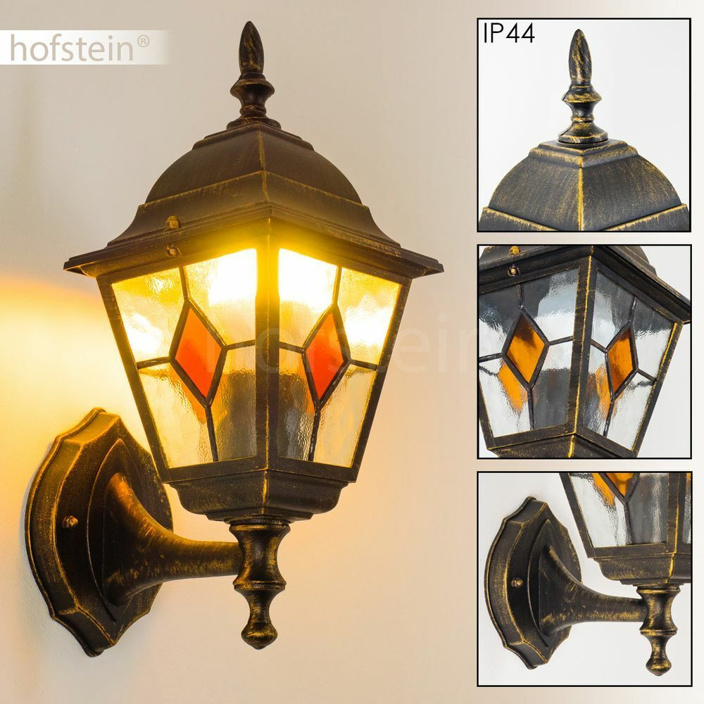 Antique Outdoor Wall Lantern Classic Garden Lights Victorian Style IP44 162965