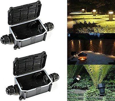 IP68 450V Outdoor Waterproof Junction Box Enclosure Case Box Shell 2way / 3ways
