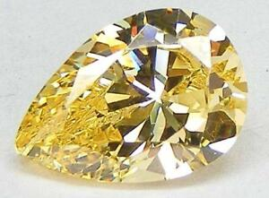 YELLOW CANARY RUSSIAN CUBIC ZIRCONIA CZ TOP QUALITY 6A+ CUSHION 9x9 MM