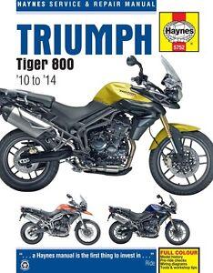 Triumph-Tiger-800-2010-2014-Haynes-Manual-5752-NEW