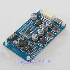 Bluetooth 4.0 Audio Receiver Board Wireless Stereo Amplifier Module 5V Mini USB