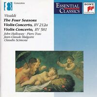 VIVALDI The Four Seasons / Violin Concertos CD