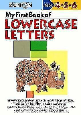 My First Book of Lowercase Letters (2004, Taschenbuch)