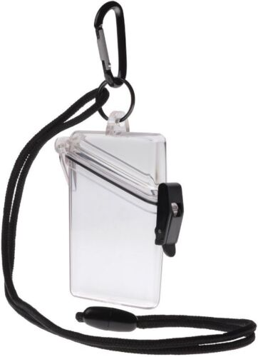 Clear Witz Waterproof ID Case Badge Case Rafting Case Credit Card Case #4
